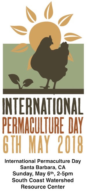 International Permaculture Day 6th May 2018