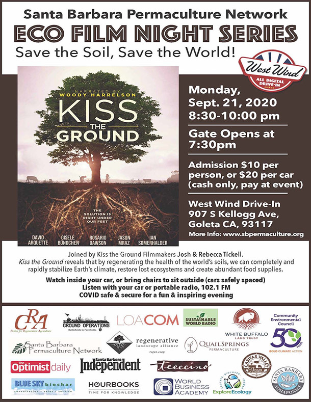 Kiss the Ground Film Premiere